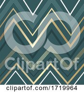 Abstract Background With Zig Zag Pattern