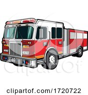 Fire Engine by Vector Tradition SM