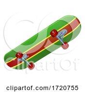 Poster, Art Print Of Skateboard Graphic Illustration