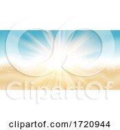 Summer Beach Themed Banner Design