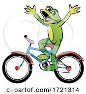08/30/2020 - Frog Riding A Bicycle