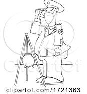 Cartoon Covid Christmas Bell Ringer