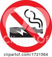No Vaping Sign by Any Vector