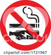 Poster, Art Print Of No Smoking Or Vaping Sign