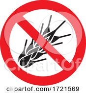 No Gluten Sign by Any Vector
