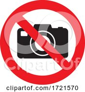 No Photos Sign