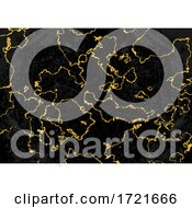 Black And Gold Marble Background