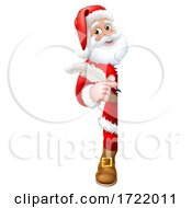 Santa Claus Christmas List Cartoon