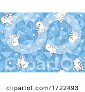 Seamless Polar Bear Background