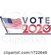 Vote 2020 American Election Retro