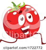 Exercising Tomato Character