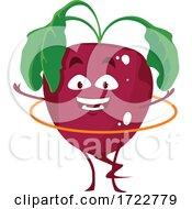Poster, Art Print Of Exercising Beet Character
