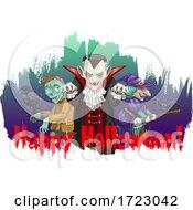 Poster, Art Print Of Happy Halloween Design