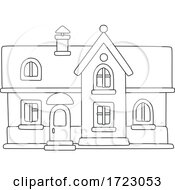 House In Black And White