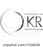 Grayscale O K R Logo