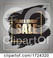 Decorative Grunge Black Friday Sale Background 0309