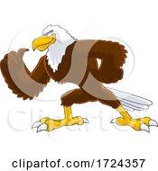 Muscular Bald Eagle