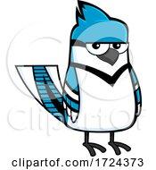 Poster, Art Print Of Blue Jay Bird