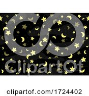 Moon And Star Pattern