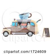 Poster, Art Print Of Coffee Truck