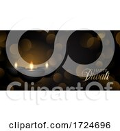 Decorative Dwali Banner Design