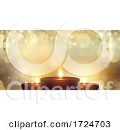 Diwali Festival Of Lights Banner Design