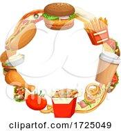Poster, Art Print Of Fast Food Design