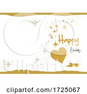 Happy Birthday Glitter Design