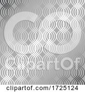 Decorative Silver Pattern Background