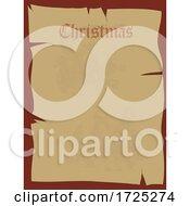 10/14/2020 - Ancient Parchment Paper Christmas List