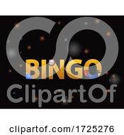 10/14/2020 - Christmas Bingo Decorative Text On Black Background