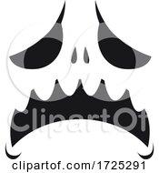 Halloween Jackolantern Face