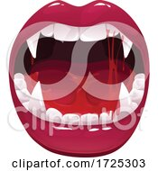 Poster, Art Print Of Vampiress Mouth