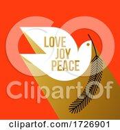Love Joy Peace Dove