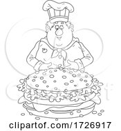Chubby Chef And Giant Cheeseburger