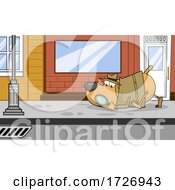 Poster, Art Print Of Detective Dog