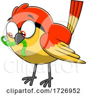 Early Bird Getting the Worm by Hit Toon #COLLC1726952-0037