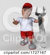 Poster, Art Print Of 3d Sports Character