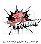 Comic Styled Black Friday Design