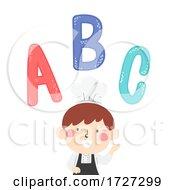 Kid Boy Chef Apron Illustration
