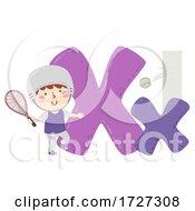 Kid Boy Xare Sport Alphabet Illustration