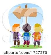 Stickman Kids Social Skills Following Direction