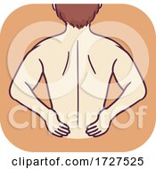 Musculoskeletal Lower Back Pain Illustration