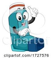 Mascot Inhaler Asthma Illustration