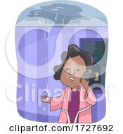 Girl Call Water Disaster Restoration Service
