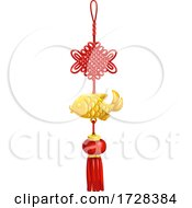 Chinese New Year Fortune Knot Ornament