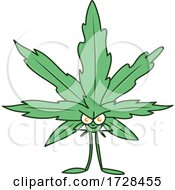 Cannabis Marijuana Pot Leaf Character