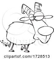 Cartoon Lineart Medium Gruff