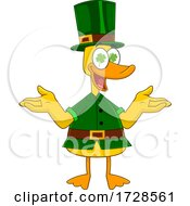 Lucky Duck Leprechaun by Hit Toon