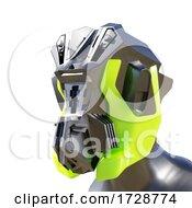 3d Mechanical Robotic AI Android Machine Man
